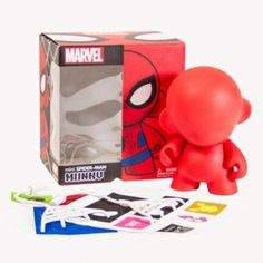 Build your own Marvel munny with fun accessories stickers!  Get yours at www.gryphongamesandcomics.com
