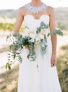 Les bouquets de mariée avec des fleurs sauvages 2017 les plus canons Image: 12