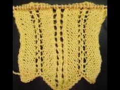 Strickmuster * TRAUMHAFTES SOMMER AJOUR * - YouTube