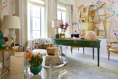Step Inside the 2016 Kips Bay Decorator Show House >> http://www.hgtv.com/design-blog/design/kips-bay-decorator-show-house-2016?soc=pinterest
