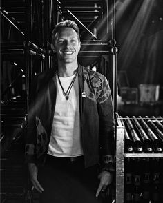 Chris Martin photographed backstage in France by @nikosaliagas #ColdplayNice | https://www.instagram.com/p/BFzPEAHp7nQ/