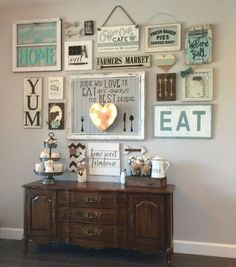 DIY Farmhouse Living Room Wall Decor - GoodNewsArchitecture