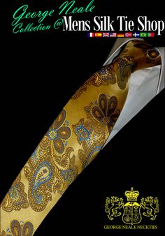 expensive gold necktie : Our luxury ties online are better quality than most $100, $200, $300, handmade ties . Silk ties for Lawyers, Accountants and Solictiors.