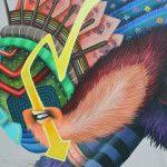 El día de ayer se concluyó el segundo mural del proyecto Capital Mural, a cargo del michoacano Curiot: El retorno de Akhankutli. Ubicado en la calle de Frontera 64, en la colonia Roma, una criatura de colorida tradición retoma el tema de la reforestación y refuerza el concepto de Curiot por trabajar con los colores …