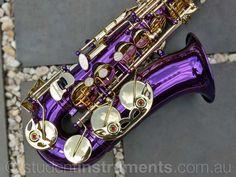 Purple ALTO SAX - BRAND NEW - Eb Saxophone - with Case | eBay