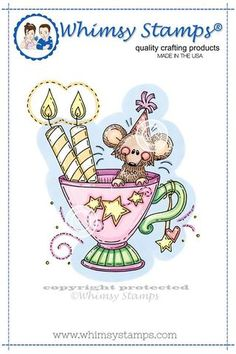 Birthday Cup Mouse