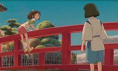Chihiro and Haku from Spirited Away: Friends or More ...