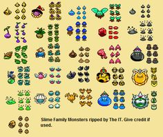Dragon Warrior Monsters 2 Sprite Sheets | Realm of Darkness.net | Dragon Quest & Dragon Warrior Fan Site and Shrine