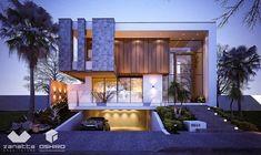 Residência em Dourados/MS. Condomínio Ecoville - Projeto: Zanatta e Oshiro Arquitetura - (67)3422.4044