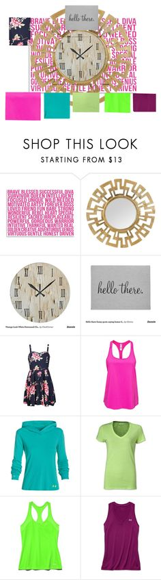 """Untitled #85"" by utitito on Polyvore featuring Americanflat, Humör, Ally Fashion, Under Armour, women's clothing, women's fashion, women, female, woman and misses"