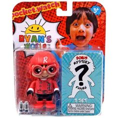 Ryan's World Red Ryan & Mystery Action Figure Girl Scout Swap, Girl Scout Leader, Boys Superhero Bedroom, Evil Pranks, Ryan Toys, Power Rangers Toys, Pinewood Derby Cars, Water Drawing, Girl Scout Crafts