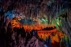 The Florida Caverns in Marianna, Florida have been forming for thousands of years.