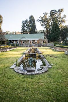 Hartford House in KwaZulu-Natal Midlands Meander, South Africa. Hartford House, Kwazulu Natal, Lush Green, Holiday Destinations, South Africa, Beautiful Homes, Dolores Park, Exterior, Explore