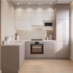 Интерьер в пастельных тонах #kitchenfurniture Архитектурный журнал ADcity, Всё о современной архитектуре и дизайне.