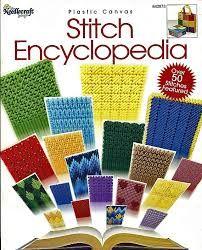 Resultado de imagen de Common Plastic Canvas Stitches
