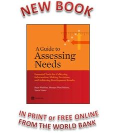 a guide to assessing needs This book is your guide to having assessing needs and then making essential decisions about what to do next needs assessments support this early phase of project development with proven approaches for gathering information and making justifiable decisions.