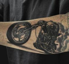 Harley Rocker Tattoo   #Tattoo, #Tattooed, #Tattoos
