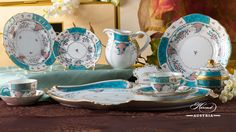 Designed By Herend in Tupini was inspired by Arabian ceramics glittering in enamel colours. Borrowing just a handful of motifs from the mysterious Orient. Arabian Nights, The Conjuring, Decorative Plates, Porcelain, Colours, Ceramics, Mysterious, Glass, Masters