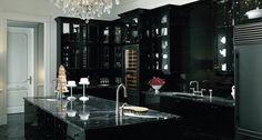 14 Ultimate Black Kitchen color Ideas For 2016