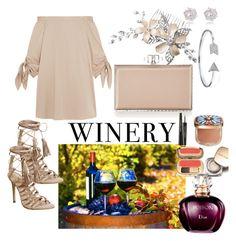 """wedding at the vineyard"" by via-rebelo ❤ liked on Polyvore featuring TIBI, Office, Judith Leiber, River Island, Bling Jewelry, Dolce&Gabbana, napa, winerywedding, bestdressedguest and vineyardwedding"