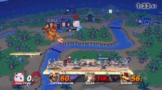Jigglypuff/Captain Falcon/Zelda/Bowser 4-Player FFA Super Smash Bros. Wi...