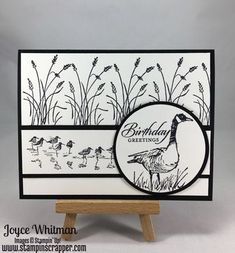 Masculine Birthday card using the Wetlands stamp set from Stampin& Up! Masculine Birthday card using the Wetlands stamp set from Stampin& Up! The post Masculine Birthday card using the Wetlands stamp set from Stampin& Up! appeared first on Birthday. Masculine Birthday Cards, Birthday Cards For Men, Handmade Birthday Cards, Masculine Cards, Male Birthday, Birthday Images, Birthday Quotes, Birthday Humorous, Sister Birthday
