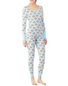 Paul Frank thermal pyjamas in light blue. Girly Stuff, Girly Things, Thermal Pajamas, Paul Frank, Long Johns, Feather Headband, Pajama Party, Short Tops, Treasure Chest