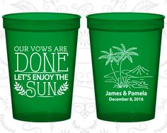 Personalized Stadium Cups, Personalized Cups, Wedding Cups, Personalized Plastic Cups, Stadium Cups, Party Cups, Plastic Cups (506)