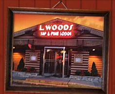 L. Woods Restaurant - Lincolnwood, IL.  Before it was L. Woods, it was Bones and before that Elliott's Pine Log Inn where my mother and her friend went every Saturday after his drug store closed for the evening.