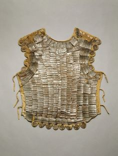 linen, gold velvet, steel, and brass x 18 in. Larp Armor, Medieval Armor, Armadura Medieval, Cleveland Museum Of Art, Historical Artifacts, Renaissance Fashion, Mode Vintage, Historical Clothing, Costume Design