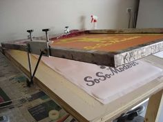 screen printing tables - Google Search