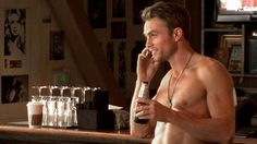 Wilson Bethel has trouble keeping his shirt on.