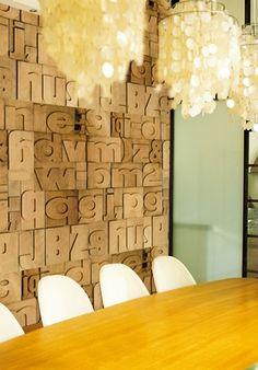 fantastic wall paper by an Italian company, Wall & Deco~posted from Blog|Kishani Perera