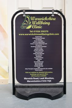 Another one of our fantastic #products, a #pavement #sign is a great way to grab attention of passers by!