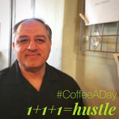 Today Huss Sadri and I talked about how Business Leaders hustle for My CoffeeADay Initiative: 1 Coffee, 1 Person, Every Day.   http://coffeeaday.net/post/120459392231/today-huss-sadri-and-i-talked-about-how-business