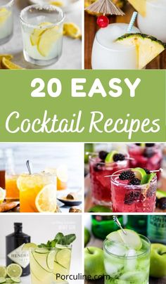 Cocktails Bar, Sweet Cocktails, Best Cocktail Recipes, Refreshing Cocktails, Cocktail Drinks, Sweet Alcoholic Drinks, Fruity Drinks, Cocktail Party Food, Party Drinks