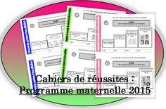 Livret de réussite à imprimer _ programme 2015 Pépinette à l'école