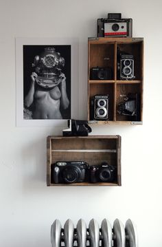 camera collection . . .