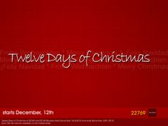 Twelve Days of Christmas. Find Gifts under the Christmas tree between 22769 ~ [casual couture] and 22769 ~ [bauwerk]. But, please keep in mind, each gift is available only the Day marked on the Giftbox. Starting December, 12th