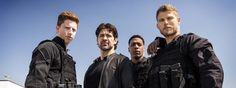 Eric Miller, Wolf Taylor, Carlton Burk and Danny Green The Last Ship, Favorite Tv Shows, Behind The Scenes, Tv Series, Grimm, Kara, Nascar, Wolf, Movies