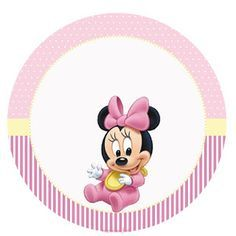 Kit Imprimible GRATIS Minnie Baby