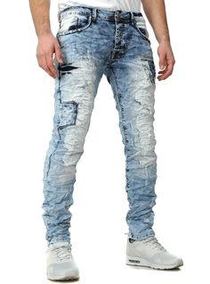 Jeansnet Jeans Crazy Mad light blue