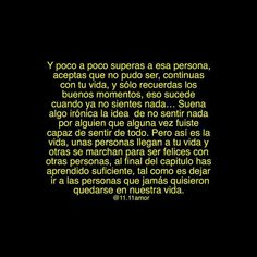 Image about text in 💔 Frases (Desamor) 💔 by La Flaka💋 Mood Quotes, True Quotes, Deep Quotes, Qoutes, Ex Amor, Sad Words, Tumblr Love, Love Phrases, Tumblr Quotes