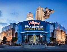 Hollywood Wax Museum in Myrtle Beach, SC, Ripleys aquarium, and shopping ideas
