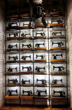 all saints. My friend and I were caught drooling over all the old machines in the Glasgow store....I want them ALL!