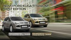 Novo FORD Kuga Titanium - First Edition