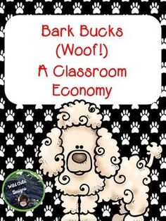 Wild Child Designs is offering up Bark Bucks Classroom Economy. This classroom economy includes Bark Bucks money (in denominations of 1s, 5s, and 10s), Bark Bucks Bargain privilege coupons, directions and tips for using the economy in your classroom, as well as a student Bark Bucks Bargain shopping sheet.