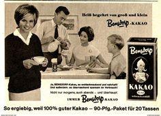 Original-Werbung/ Anzeige 1961 - BENSDORP KAKAO - Ca. 115 X 80 Mm - Werbung