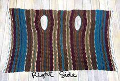 Navajo Blanket Cardigan - an easy crochet pattern for beginners. Beginner blanket cardigan by Stardust Gold Crochet. Cardigan Au Crochet, Crochet Jacket, Crochet Shawl, Crochet Stitches, Knit Crochet, Crochet Patterns For Beginners, Easy Crochet Patterns, Knitting Patterns, Knitting Ideas