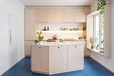 Kitchen World, Co Housing, Spanish Bungalow, Cabin Homes, Kitchen Interior, Kitchen Island, Sweet Home, New Homes, Living Room